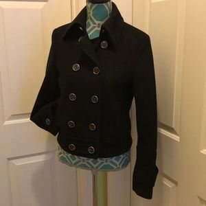 Express double breasted jacket.